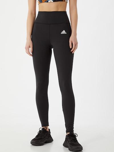 ADIDAS PERFORMANCE Spodnie sportowe w kolorze czarnym, Podgląd na modelu(-ce)