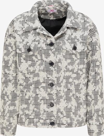 MYMO Jacke in grau / weiß, Produktansicht