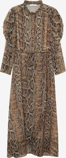 MANGO Kleid 'boa' in braun, Produktansicht
