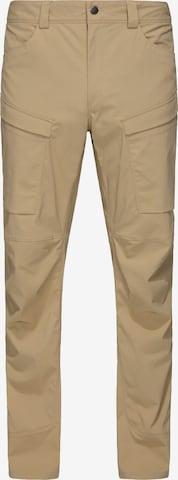 Pantalon outdoor 'Mid Fjord' Haglöfs en marron