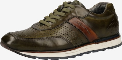 DANIEL HECHTER Sneaker in braun / khaki, Produktansicht
