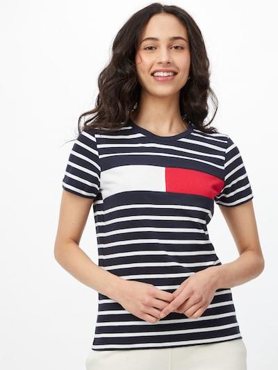 TOMMY HILFIGER Paita värissä yönsininen / punainen / valkoinen: Näkymä edestä
