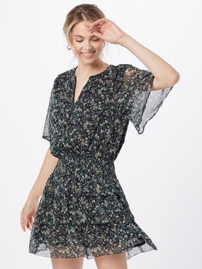 Pepe Jeans Kleid 'AMELIA' in creme / nachtblau / hellgelb / grasgrün / pastellpink, Modelansicht