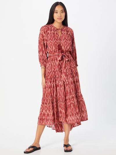 MINKPINK Kleid in rot / blutrot / weiß, Modelansicht