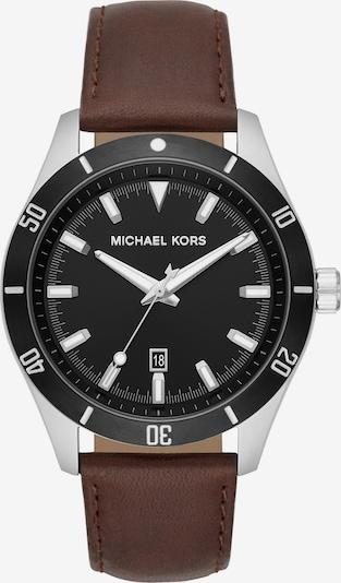 Michael Kors Michael Kors Herren-Uhren Analog Quarz ' ' in braun / silber, Produktansicht