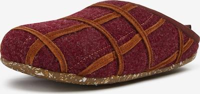 CAMPER Schuh in braun / bordeaux, Produktansicht