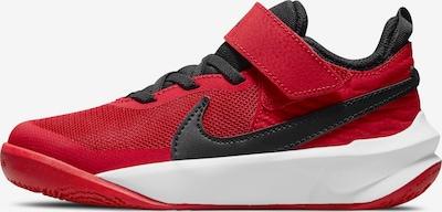 NIKE Basketballschuh in rot / schwarz, Produktansicht