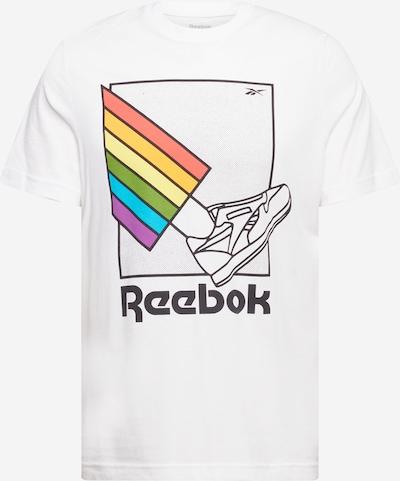 Reebok Sport Funkcionalna majica 'Pride' | mešane barve / bela barva, Prikaz izdelka