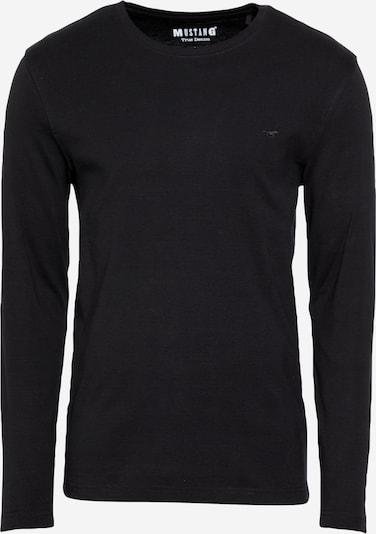 MUSTANG Shirt 'Anton' in schwarz, Produktansicht