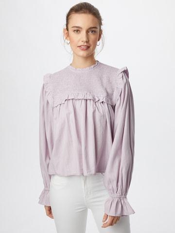 Gina Tricot Blouse 'Greta' in Purple