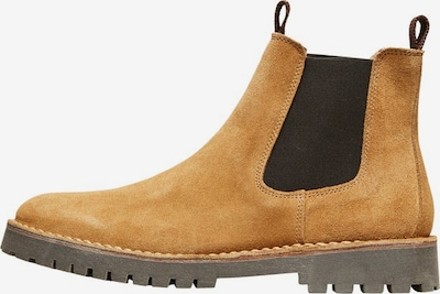 SELECTED HOMME Stiefel in hellbeige, Produktansicht