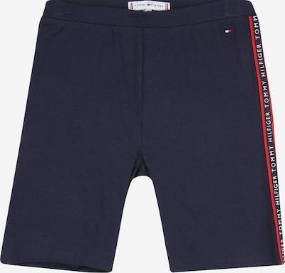 TOMMY HILFIGER Pantalon en bleu marine / rouge feu / blanc, Vue avec produit