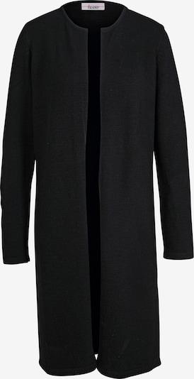 heine Gebreid vest in de kleur Zwart, Productweergave