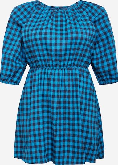 Missguided Plus Robe en bleu clair / bleu foncé, Vue avec produit