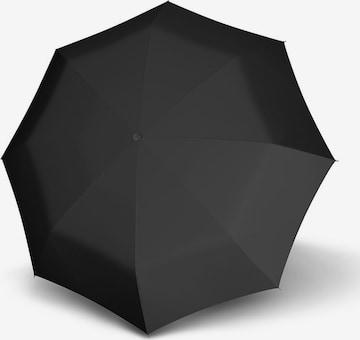 Doppler Regenschirm 'Carbon Magic' in Schwarz