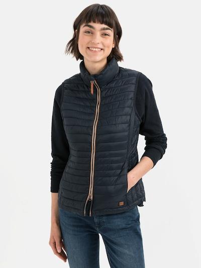 CAMEL ACTIVE Vest in marine blue, View model