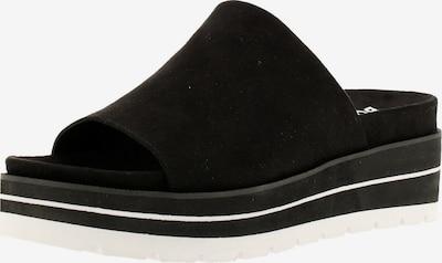 BULLBOXER Pantolette '078024F2T' in schwarz / weiß, Produktansicht