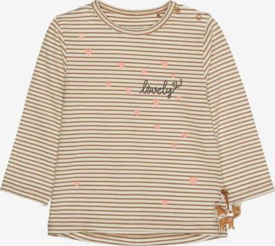 STACCATO Shirt in braun / weiß, Produktansicht