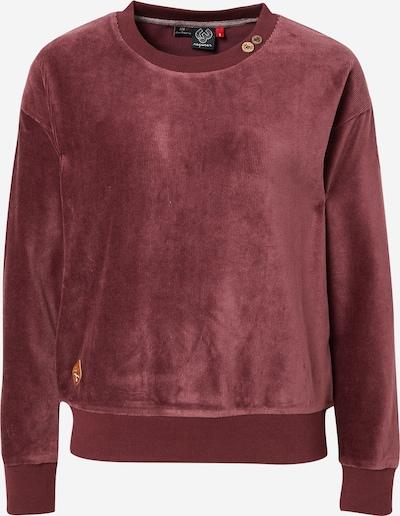 Ragwear Sweatshirt 'MAIKEN' in de kleur Wijnrood, Productweergave