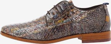 Chaussure à lacets ' GREG SNAKE FANTASY ' Rehab en marron