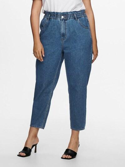 ONLY Carmakoma Jeans 'Ove' in blue denim, Modelansicht