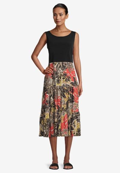 Vera Mont Sommerkleid mit Stufenrock in khaki, Modelansicht