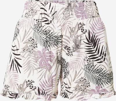 Pantaloni de pijama 'Dilma' ESPRIT pe gri / oliv / mov deschis / negru / alb, Vizualizare produs