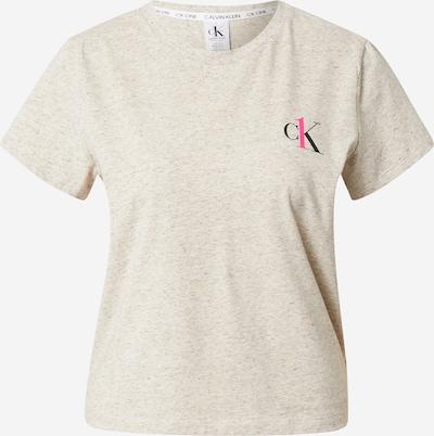 Calvin Klein Underwear Pajama shirt in mottled beige / Pink / Black, Item view