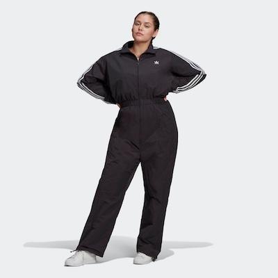 ADIDAS ORIGINALS Jumpsuit in de kleur Zwart / Wit, Modelweergave