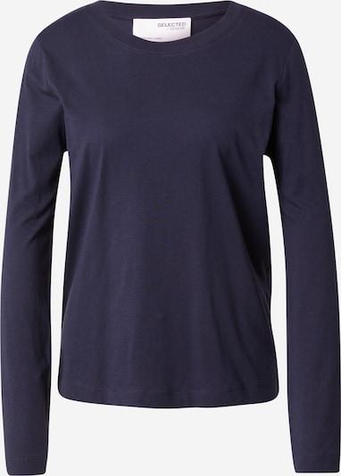 SELECTED FEMME T-shirt i marinblå, Produktvy