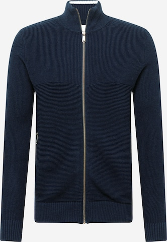 TOM TAILOR Knit Cardigan in Blue