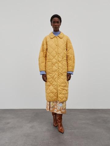 EDITED Vinterfrakk 'Mallory' i gul