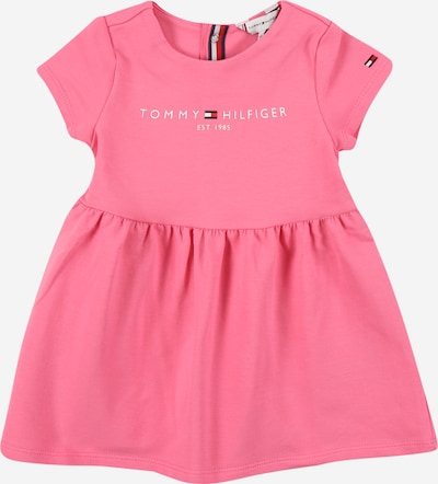 TOMMY HILFIGER Kleid in dunkelblau / hellpink / melone / weiß, Produktansicht