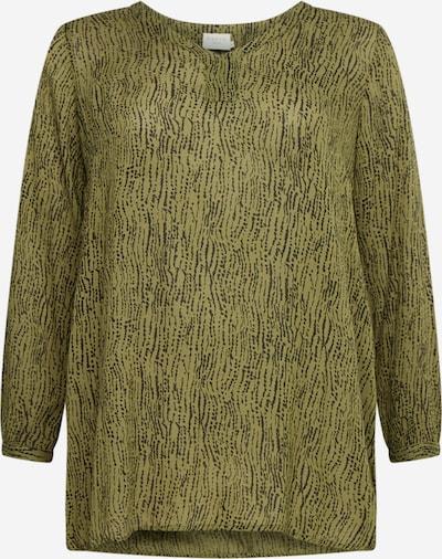 KAFFE CURVE Bluzka 'Crioli' w kolorze oliwkowy / czarnym, Podgląd produktu