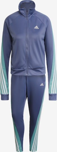 ADIDAS PERFORMANCE Облекло за трениране в нефритено зелено / люляк / бяло, Преглед на продукта