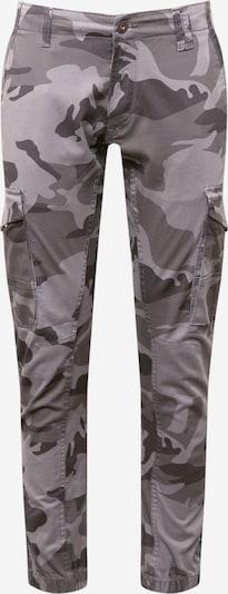 Laisvo stiliaus kelnės 'Paul' iš JACK & JONES , spalva - pilka / tamsiai pilka / rusvai žalia, Prekių apžvalga