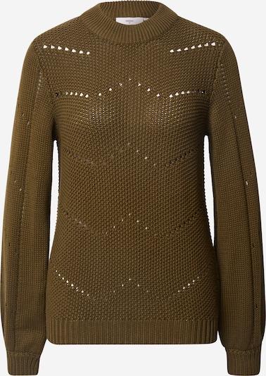 minimum Pullover in oliv, Produktansicht