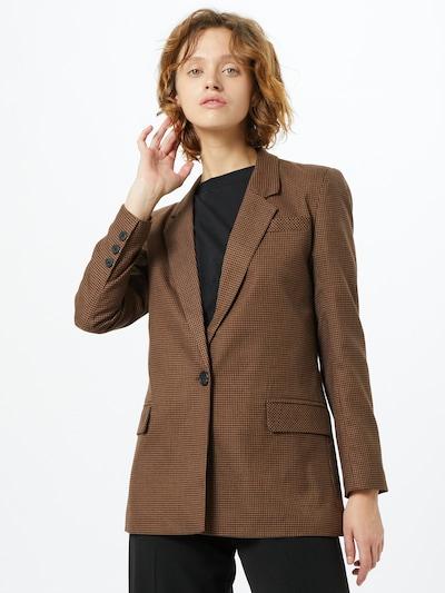 ONLY Blazer 'GLOSS-ADAH' in braun / schwarz, Modelansicht