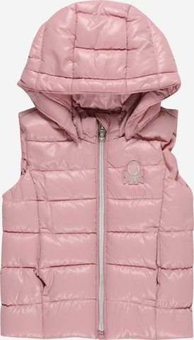 UNITED COLORS OF BENETTON Vest, värv roosa