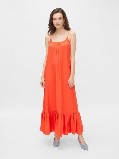 Y.A.S Kleid in hellorange / dunkelorange, Modelansicht