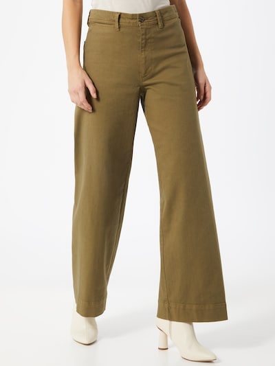 Kelnės iš GAP , spalva - alyvuogių spalva, Modelio vaizdas