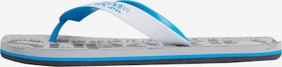 Superdry Claquettes / Tongs en bleu foncé, Vue avec produit