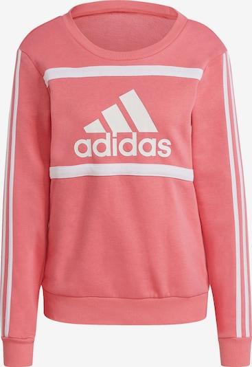 ADIDAS PERFORMANCE Sportsweatshirt in altrosa / weiß, Produktansicht