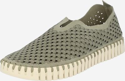 ILSE JACOBSEN Sneaker 'FLATS' in khaki, Produktansicht