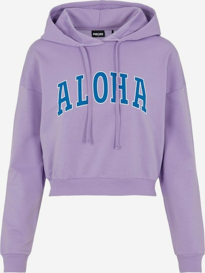 PIECES 'Aloha' Hoodie in lila, Produktansicht