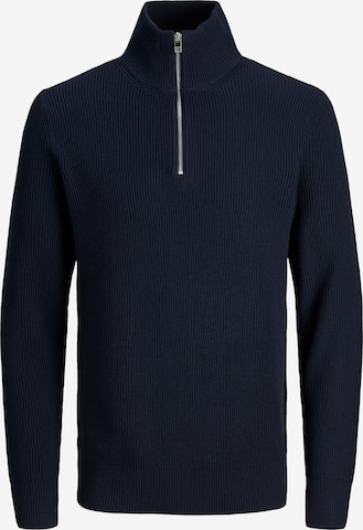 JACK & JONES Sweter 'Blaperfect' w kolorze niebieski