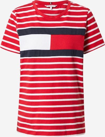 TOMMY HILFIGER Shirts i navy / rød / hvid, Produktvisning