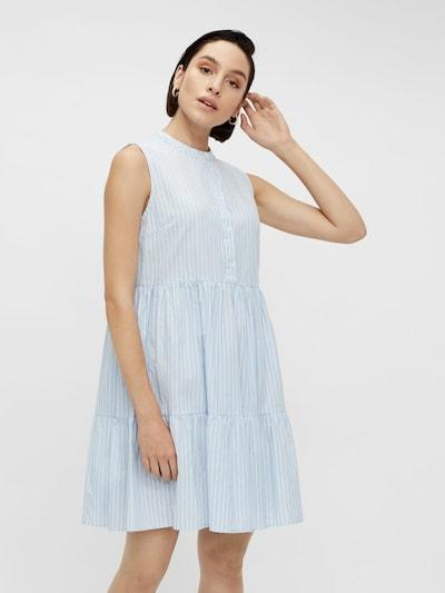 Y.A.S Kleid in hellblau / weiß, Modelansicht