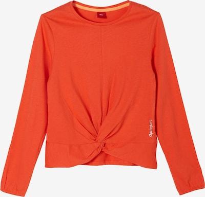 s.Oliver Shirt in orangerot / weiß, Produktansicht