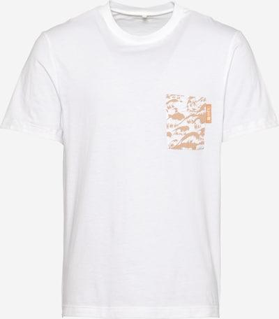 Tricou 'Wavey' Degree pe portocaliu deschis / roz pudră / alb murdar, Vizualizare produs